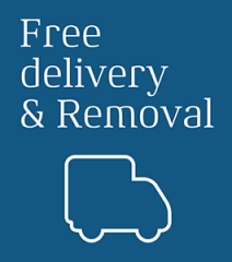 Free Delivery & Removal