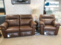 Kettley's Airedale Reclining Settee & Chair Image