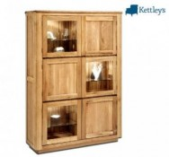 Nouveau Living Collection Glazed Display Unit Image