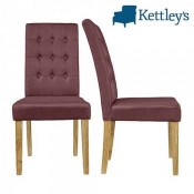 Roma Plum Dining Chair Image